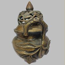 SUIRONG---2017 701+++The whole network selling special offer copper incense burner   disc binaural Tan incense Buddha