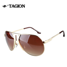 2015 New Fashion Men Sunglasses Best Quality Shield Shape Sun Glasses Alloy Frame Glasses Cool Male Loved Driving Eyewear 6142