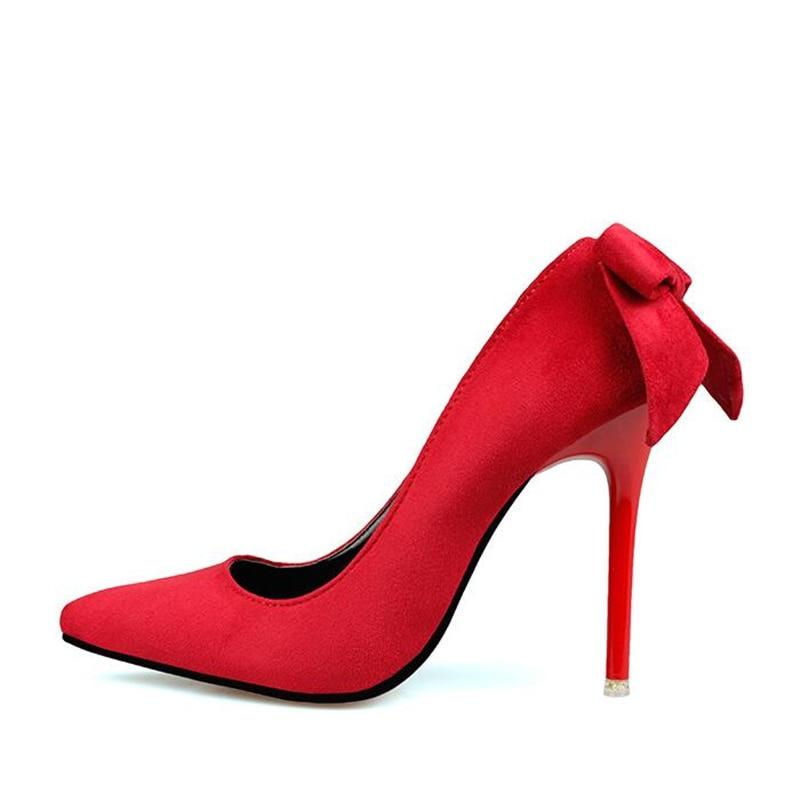 Luxury-Brand-Shoes-Woman-High-Heels-Flock-Red-High-Heels-10CM-Women-Shoes-High-Heels-Wedding (2)