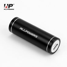 ALLPOWERS Portable Power Bank 5400mAh Phone External Battery PowerBank for iPhone 6 6s 7 plus Samsung Galaxy s7 s8 HTC LG ect.(China)