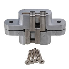 BQLZR Furniture Door Cross Hinge Fix Hole Convenient 180 Degree