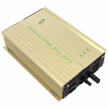500W Grid Tie Inverter 24v for pv-voc 26v-45v dc to ac 110v 220v power inverter for 24V battery high tracking effency pure sine(China)