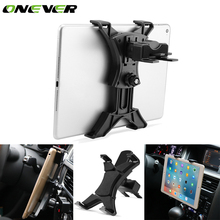 "Onever Universal Car CD Slot Tablet PC Holder Mount Stand Bracket 360 Degree Rotating Holder Rack for 7-11"" Tablet iPad Air Mini(China)"