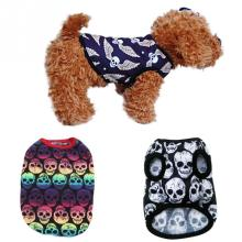 Brand New Cool Style Dog Skull T Shirt Puppy Cat Dog Vest Clothes Apparel Costumes Pet Clothes 5 Styles