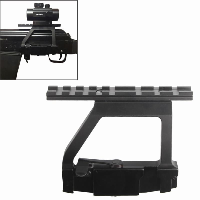 AK Mount 47 74 SVD Side Rail QD Scope Sight Torch Attachment 20mm Airsoft RL2-0022-03-