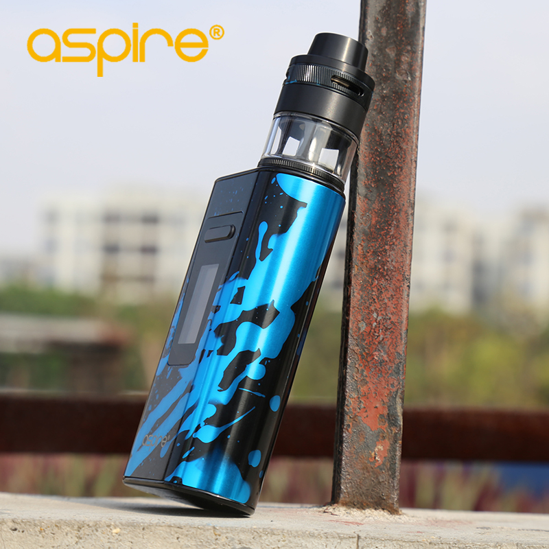 Electronic Cigarette Aspire Typhon Revvo 100W Vape Kit E Cig Device with 5000mah Built-in Battery and 2ML Revvo Atomizer Tank 14