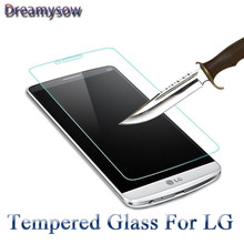 Screen Protector Tempered Glass For LG G4 G4C G3 mini Stylus X Screen Zero G3S G2 Spirit Leon V10 Capa Coque film cover(China)