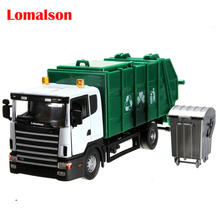 NEW arrival garbage truck waste truck eco-friendly car transport vehicle model toy as gift for boy children