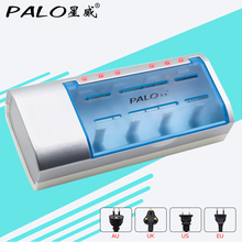 Multi usage LED indicator battery charger for nimh nicd AA/AAA/SC/C/D/9V size battery(China)