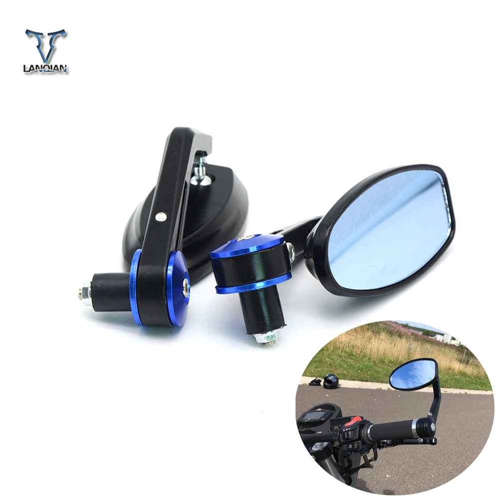"7/8"""" 22mm Motorcycle Handlebar Rear View Side\Rearview Mirrors For YAMAHA TMAX 500 TMAX530 FZ1 FAZER06-13 FZ6"