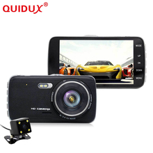 "Buy QUIDUX New 4.0"" IPS Car DVR Camera FHD 1080P Dual Lens Dash Cam Rear view Auto Registrator Digital Video Recorder Camcorder for $55.99 in AliExpress store"