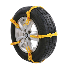 10Pcs/Lot Auto Mud Tires Trucks Snow Chains For Car Winter Wheels Protection Tyre Chains Automobiles Roadway Safety Accessories(China)