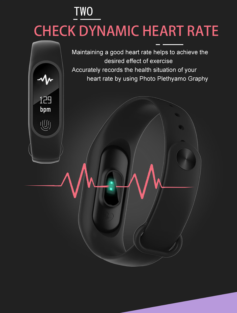 M2 plus smart wristband (4)