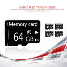 Micro TF card class 6 class 10 TF Memory Card super mini T-Flash Transflash gift Box+adapter 2g 4g 8g 16g BT2