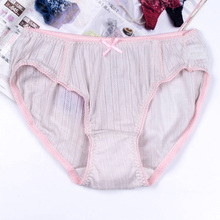 Buy 2017 autumn new sexy panties underwear women bamboo fiber breathable women triangular pants bottom crotch cotton briefs lingerie