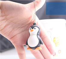 lovely Baby Adelie cute Penguin cartoon1/2/4/8/16/32/64G USB Flash Drive Memory card Stick Pen creative Pendrive gift S226 BB(China)