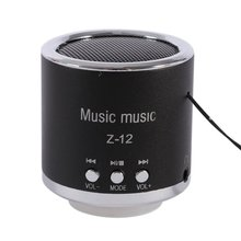 M&J New FM Radio Z12 Portable Speaker USB Micro SD TF Card Mp3 Mini Speaker Computer subwoofer Music box portable speaker(China)