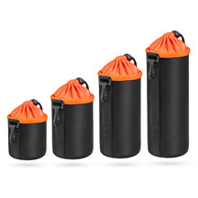 Buy Dslr Lens Bag Neoprene Waterproof Lens Pouch Protective lens Case Cover Protector Canon Nikon Sony cameras lens 4pcs/lot for $13.97 in AliExpress store