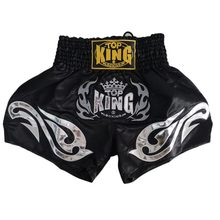 Adjustable MMA Shorts Acrylic Cotton Blended Trunks for Muay Thai Twins Pretorian Top King Kick Muay Thai Shorts Boxing Shorts(China)