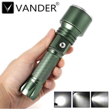 Vander Bicycle Light 3 Mode XM-L LED Bike Light Front Torch Waterproof + Torch Holder 500 Lumens Led Flashlights