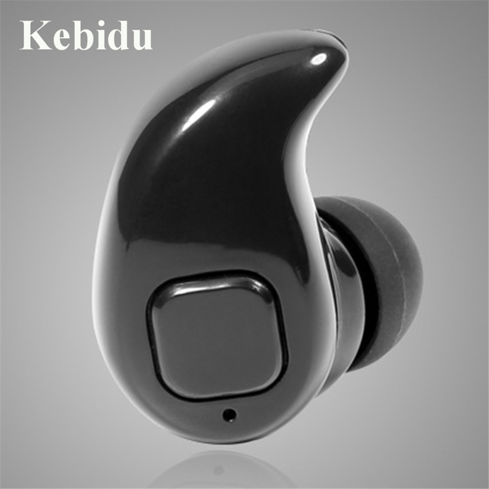 Kebidu S530X Mini Wireless in-ear earphone Hands Free Earphones Blutooth Stereo Auriculares Earbuds bass Bluetooth Headset(China)
