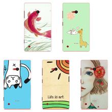 2017 Top Phone Case Skin Cover White Hard Case Cover For Nokia Lumia 720 Case Cover Shell Skin Shield Bag Housing(China)