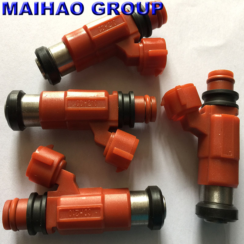 4 pcs Fuel Injector For Yamaha Outboard 115HP Mitsubishi Eclipse INP771 842-12223 CDH210 New High Quality(China)