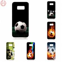 EJGROUP soccer ball Soft TPU Silicon Top Selling For Samsung Galaxy S8 5.8 inch G950 G950F SM-G9500(China)