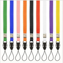 10x Lanyards Neck Strap For ID Pass Card Badge Gym Key / Mobile Phone USB Holder DIY Hang Rope Lariat Lanyard