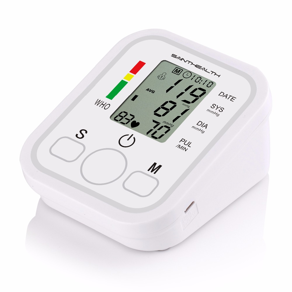 جهاز الرعاية الصحية المنزلية لقياس ضغط الدم ورصد ضربات القلب 7