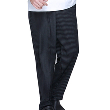 Brands Checkedout Chef Work Uniform Men's Chef Pants Kitchen Staff Pants Hotel Restaurant Waiter's Trousers Men's Work Pants(China)