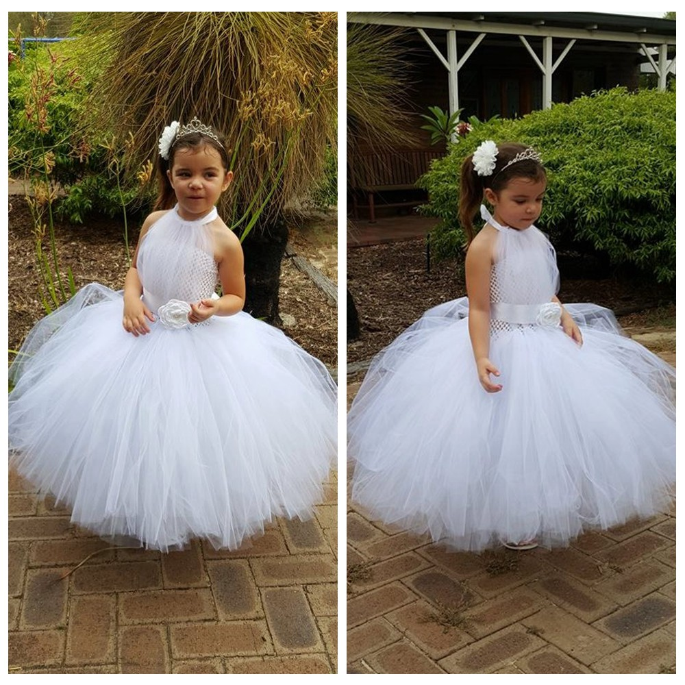 Flower Girls Tutu Ball Gown Dress Ankle Length Boutique Vintage Princess Girls Birthday Party Evening Dresses 2-10Y PT233<br><br>Aliexpress