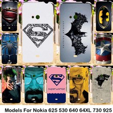 Silicone Plastic For Nokia Lumia 625 N625 625H 530 N530 640 N640 640XL N640XL 730 N730 735 925 N925 Cases Phone Accessories bag