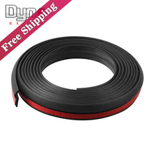 Freeshipping Universal 4M Z Type Car Rubber Seal Sound Insulation Car Door Sealing Strip Weatherstrip Edge Trim Noise Insulation