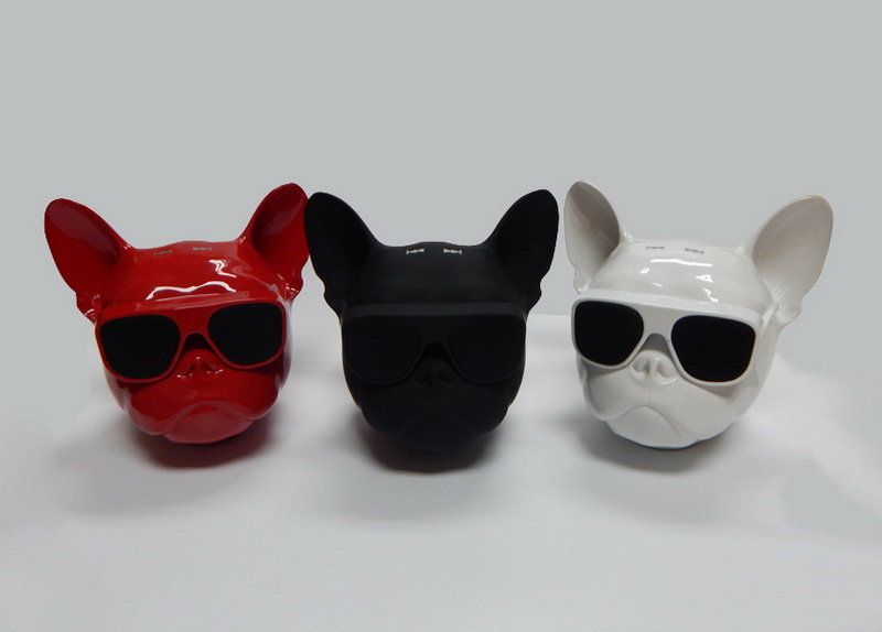bull dog Nano Wireless Speaker Bulldog Bluetooth Speaker Outdoor Portable HIFI Bass Speaker Multipurpose Touch Control (17)