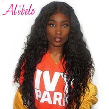 Alibele Malaysian Water Wave 1 Bundle Human Hair Weave Natural Remy Hair Extension Of Full Cutile Can Be Bleached Dyed 10-28inch