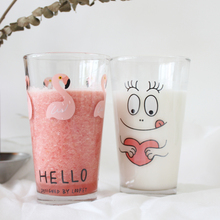 1Pcs Novelty Cute Bird Animal Milk Mug Glass Creative Juice Coffee Tea Cup Nice Gifts Korean Style Hot Selling Drinking Cups