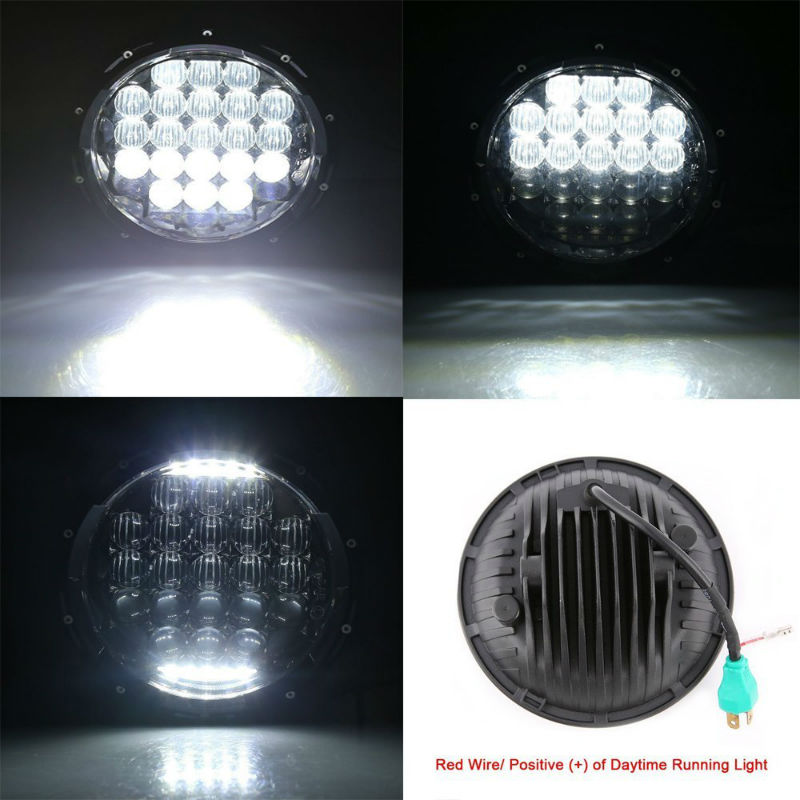 5d 130w led headlight3800