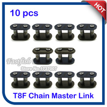 10pcs/pack T8F Chain Spare Master Link For 43cc 47cc 49cc 2 Stroke Mini ATV Quad Dirt Super Pocket Bike Motorcycle Motocross