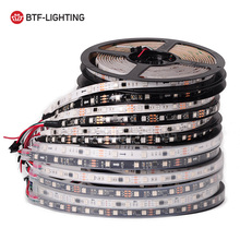 WS2811 5050 SMD RGB Strip Addressable 30/48/60leds/m Led Pixels External 1 ic control 3 Leds 5m/roll 16.5ft  DC12V
