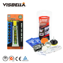 Visbella Multi-Purpose Clear Contact Repair Glue Super Bonding Adhesive and Headlamp Restoration Kit Clean Fix Foggy Headlight(China)