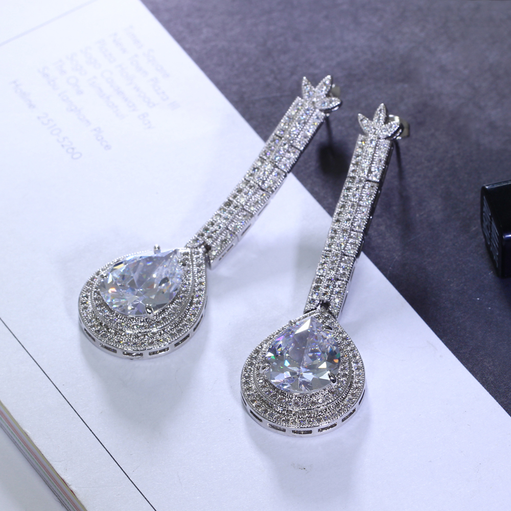 big water drop stone earrings (15)