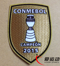 2015 Chile Copa America Campeon soccer patch Chile national team Champion patch free shipping(China)