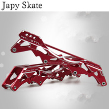 Japy Skate Original Freesty Skate Frames 231mm 243mm Base Flat Slalom Skate Frame Free Skating Basin For SEBA Powerslide Patines