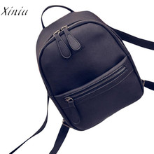 New Women Backpack Girl Rucksack Shoulder Bookbags School Bag Satchel Travel Leather Backpack Women Bolsas Mochila Feminina(China)
