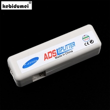 kebidumei New arrival RJ11 ADSL Line Splitter Fax Modem Broadband Phone Network Jack Noise Filter wholesale(China)