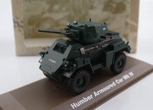 1/43 Germany Humber armoured MK IV armored vehicle car Alloy model Collection model Holiday gift(China)