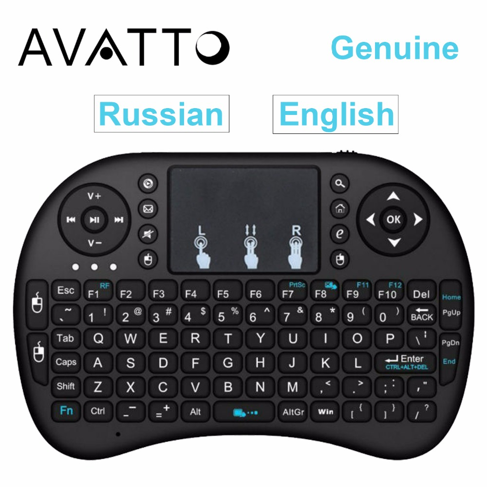 [Genuine] i8 Wireless Mini Keyboard  Gaming Air Fly Mouse for Smart TV Android TV Box PS3 XBox HDPC Laptop Tablet PC iPad<br><br>Aliexpress