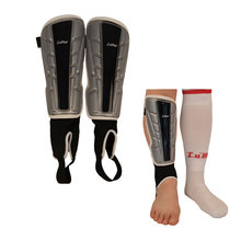 New Shin pads football package mail with protection of ankle foot A large number of Bind belt guard adult protective devices