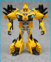 Deformation toys TFP leader of the beast the hunter inaugural troll wars bumblebee D strengthen level